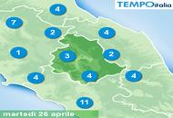 Meteo Umbria: il clima di Primavera sarà bruscamente interrotto nel week end