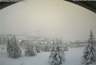 Meteo Piemonte: forti nevicate nella regione alpina. Pioggia abbondante altrove