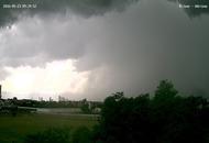 I cattivo temporale di Milano, foto