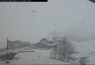 Torna la neve in Valle d'Aosta, fino a 1200 metri di quota