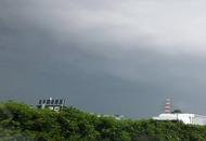 Roma, il temporale visto alle porte della città