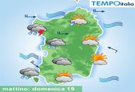 Meteo in Sardegna, oggi temporali sparsi, domani sporadici. Clima fresco