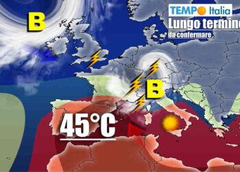 meteo lungo termine con ondata di caldo e peggioramento 350x250 - Timelapse Castelluccio di Norcia - MAGGIO 2021. Video