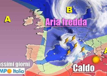 meteo prossimi giorni instabile con temporali 350x250 - METEO sino al 15 Giugno: ulteriore raffica di temporali su Italia