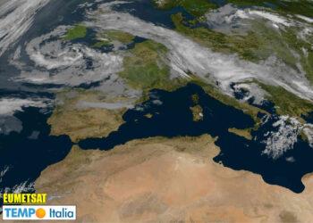 meteosat ciclone in adriatico meteo che cambia 350x250 - METEO sino al 15 Giugno: ulteriore raffica di temporali su Italia