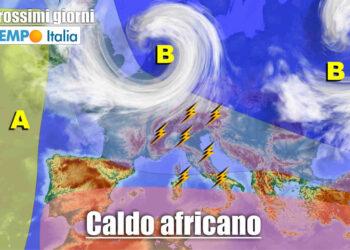 meteo prossimi giorni instabile e caldo 350x250 - METEO sino al 15 Giugno: ulteriore raffica di temporali su Italia
