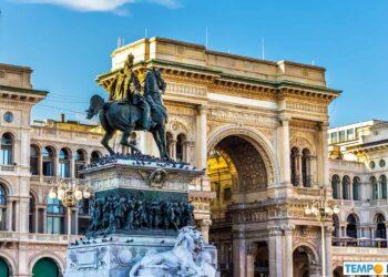 Galleria Vittorio Emanuele II in Milano.