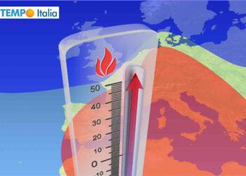 Raffica di ondate di calore verso l'Italia.