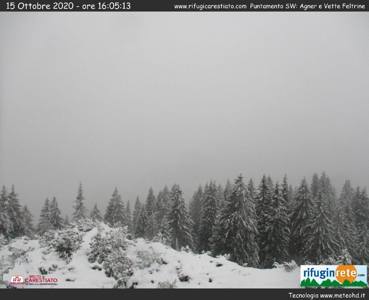 1a09f651 cfc1 4b37 9717 7c9356e0b4ed - Veneto, abbondanti nevicate tra le Alpi e le Prealpi: galleria fotografica