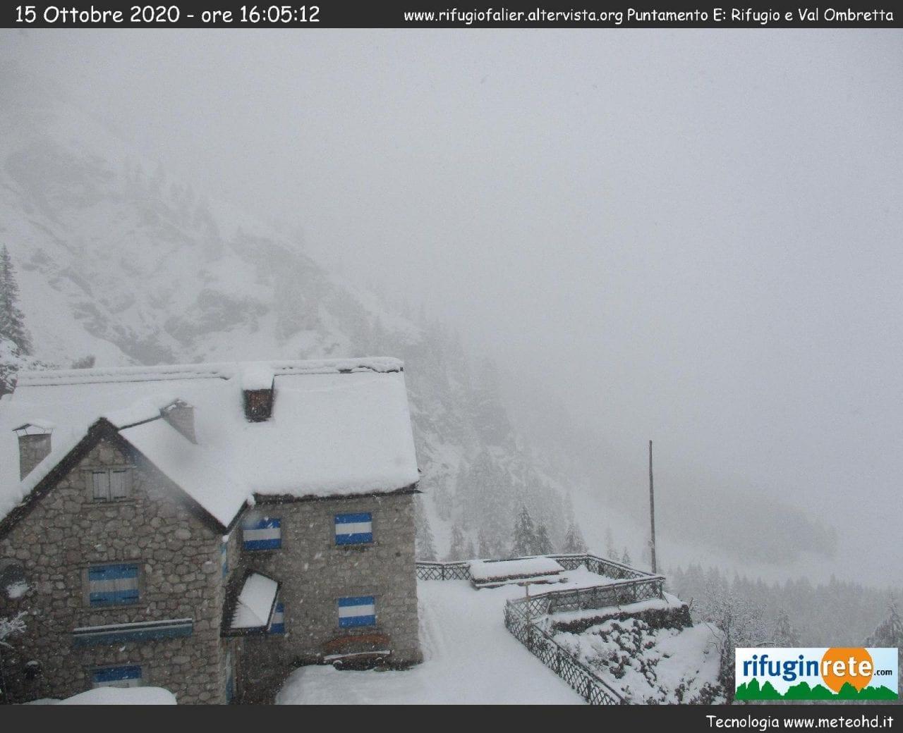 c7babdcb 215d 4c16 893e 7678f751590f - Veneto, abbondanti nevicate tra le Alpi e le Prealpi: galleria fotografica