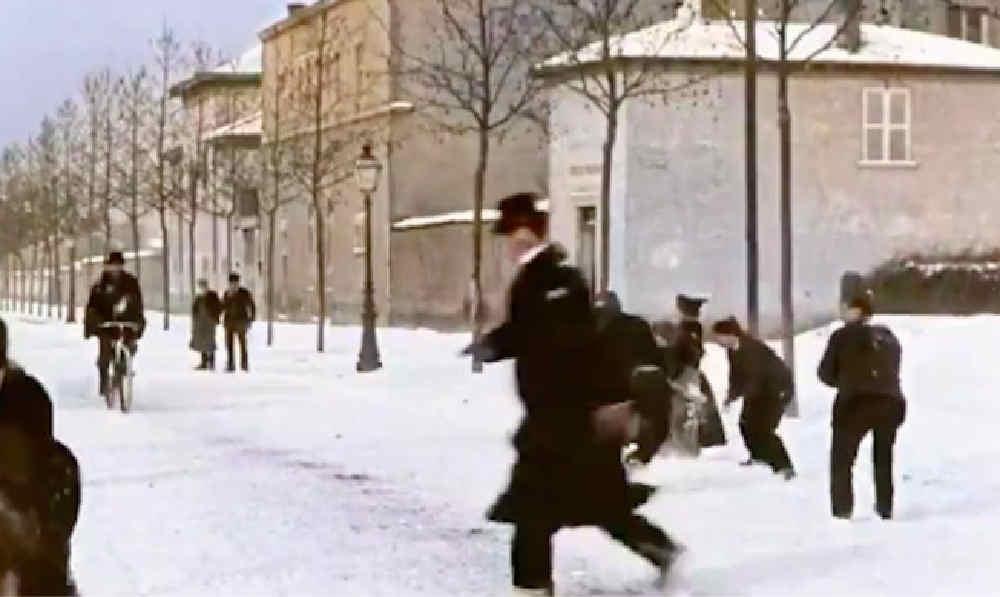 storica battaglia di neve - Battaglia di neve storica