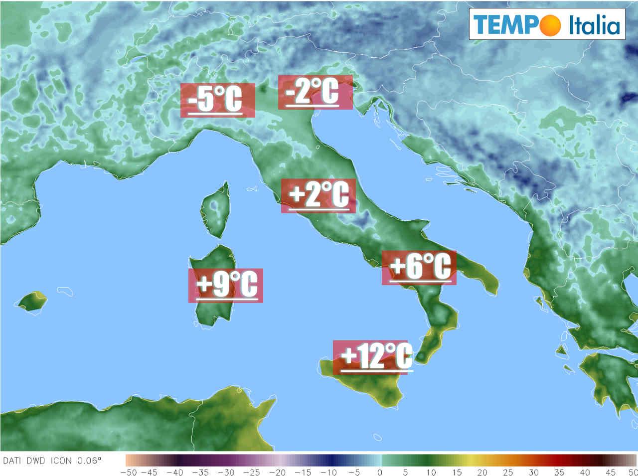 gelate intense al nord italia - Forti GELATE attese al Nord Italia. Freddo invernale nel fine settimana