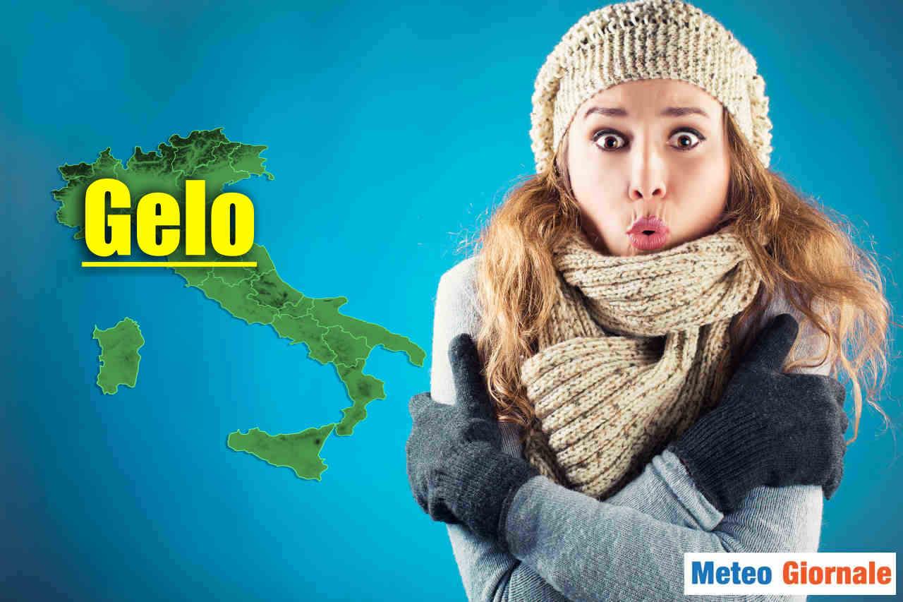 Gelate notturne sono attese soprattutto al Nord Italia.