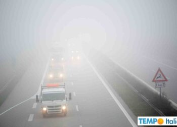 Nebbie fitte, soprattutto in Valle Padana.