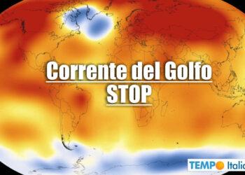 La Corrente del Golfo è in attenuazione.