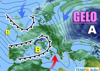 Meteo prossimi giorni con maltempo sull'Italia.