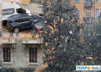 Neve Milano.