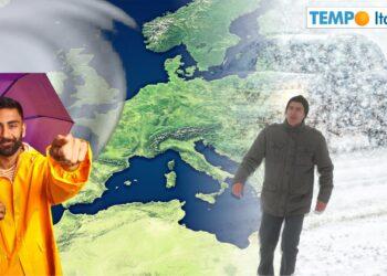 Meteo neve Italia.