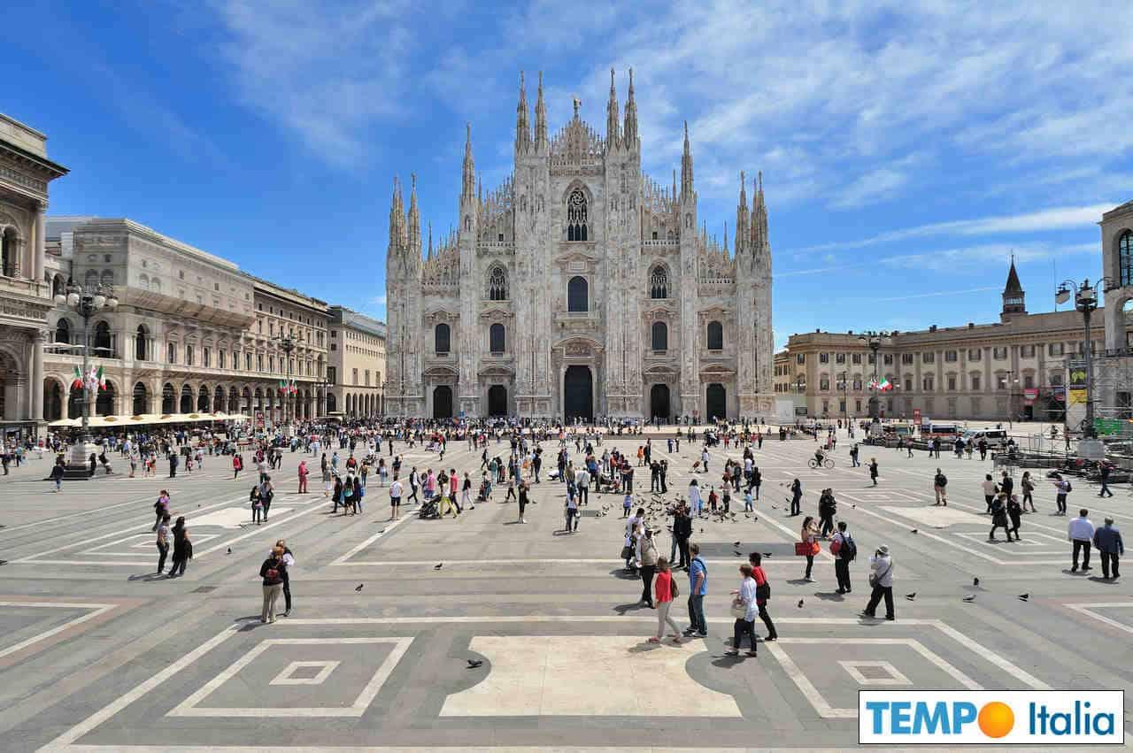 meteo 00027 - Meteo Milano fresco. Rischio di temporali in settimana