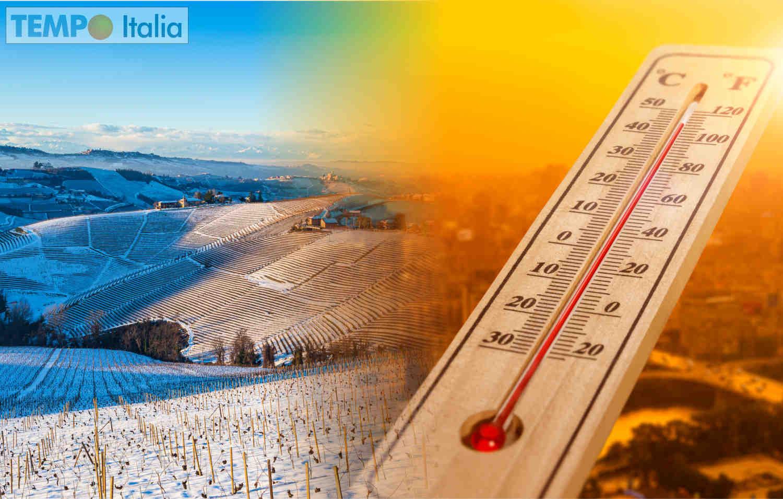 Meteo con gelo in aprile, rischio caldo inizio estate.