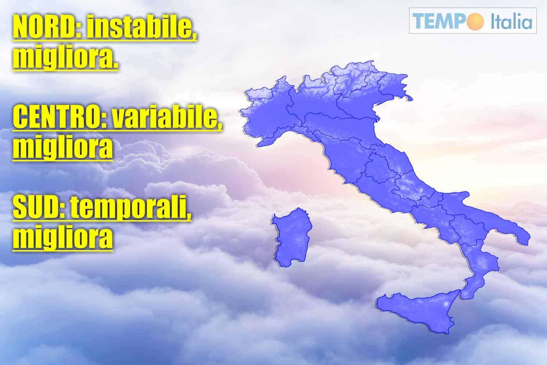 meteo domani aeronautica militare italiana 15 maggio 2021 - Meteo Domani 15 maggio 2021. Cosa dice l'Aeronautica Militare italiana