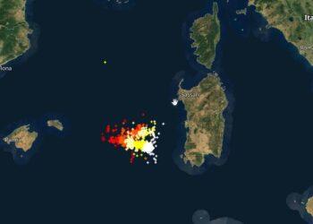 Meteo Sardegna: possibilità di temporali nelle prossime ore.