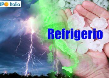 meteo con refrigerio su italia
