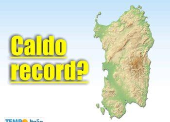 meteo sardegna caldo record