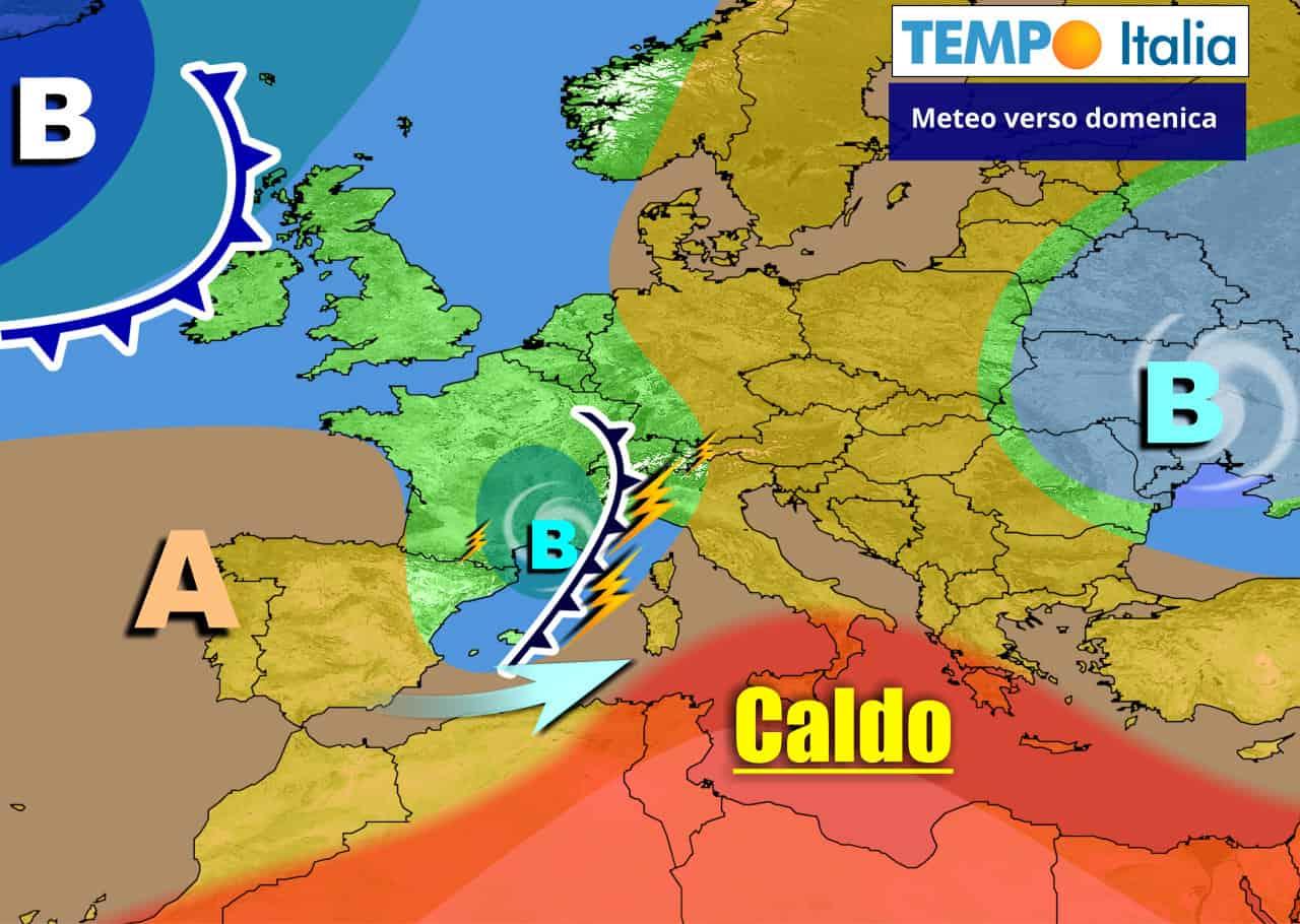 tempoitalia 7 giorni 1 - METEO Italia all'8 Giugno. Caldo d'estate, ma sarà solo breve parentesi