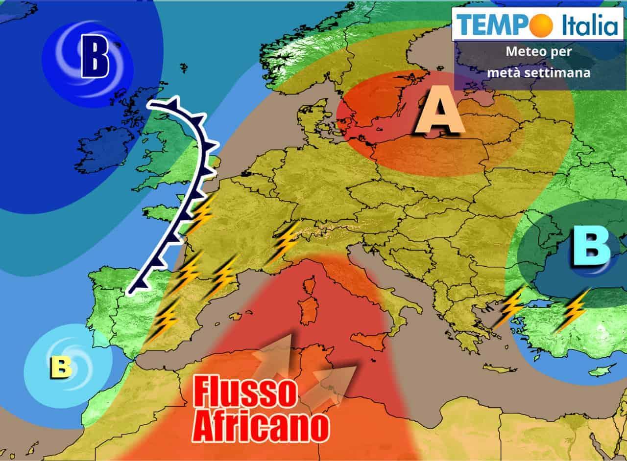 tempoitalia 7 giorni 12 - METEO Italia sino 19 Giugno. Esplosione Estate, ma occhio ai temporali