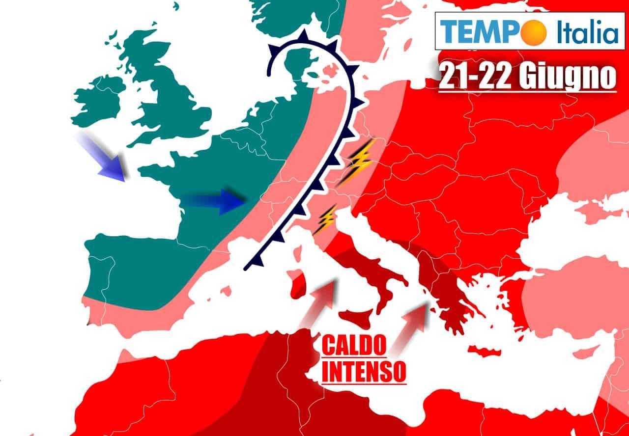 tempoitalia 7 giorni 17 - METEO prossimi giorni: ALDO ATROCE, ma al Nord in arrivo TEMPORALI