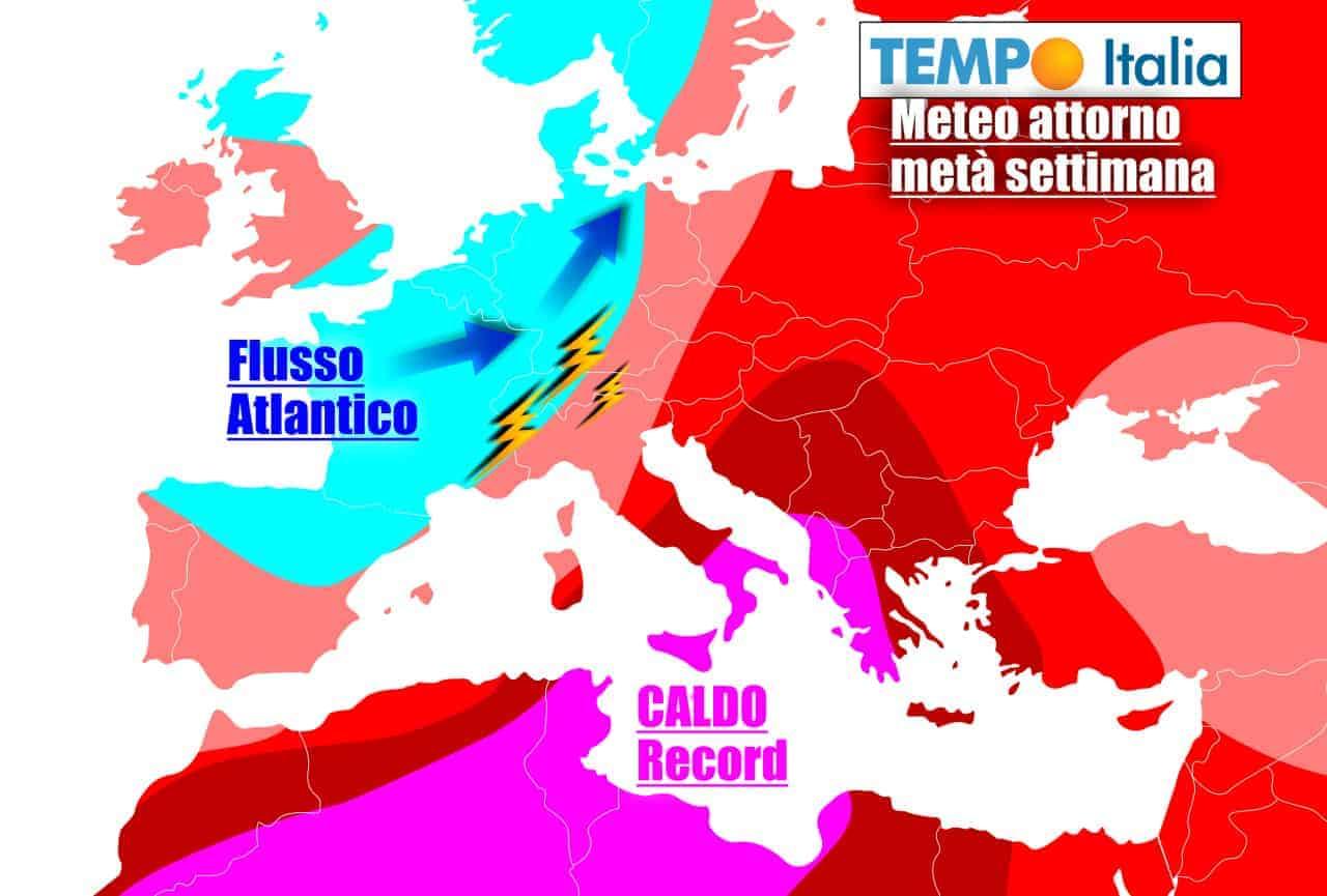 tempoitalia 7 giorni 20 - METEO sino al 27 Giugno. CANICOLA AFRICANA con temperature roventi