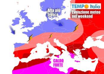Clima più vivibile nel weekend