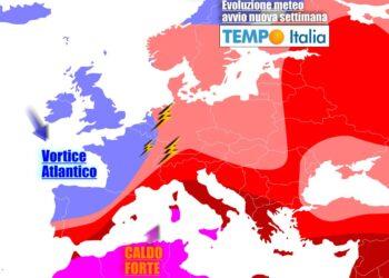 Il caldo sarà protagonista a lungo, anche in prospettiva per inizio luglio