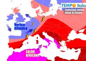 Caldo intenso sull'Italia nei primi giorni della settimana