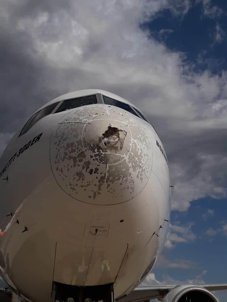 216779982 1214482725685446 4938908400470971020 n 1 - La grandine può abbattere un aereo?