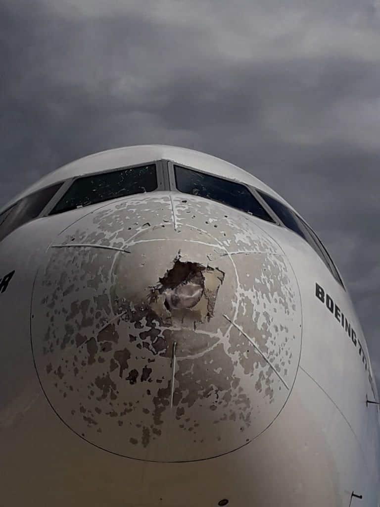 217557837 1214482695685449 3680332431305916899 n 2 - La grandine può come quella dell'aereo di Malpensa, può causare un incidente