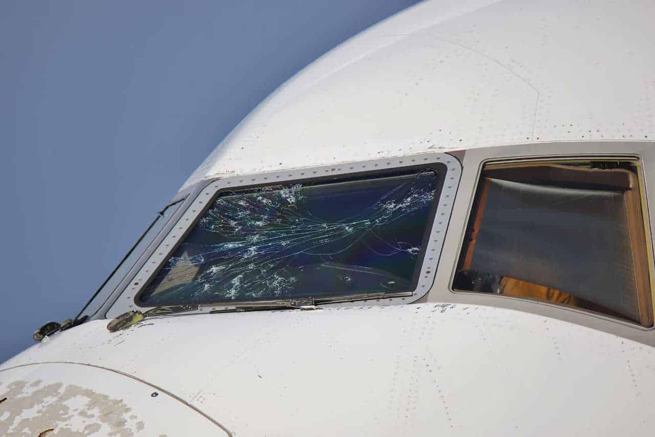 E6Ma7BGXMA0Tdfe 2 - La grandine può come quella dell'aereo di Malpensa, può causare un incidente