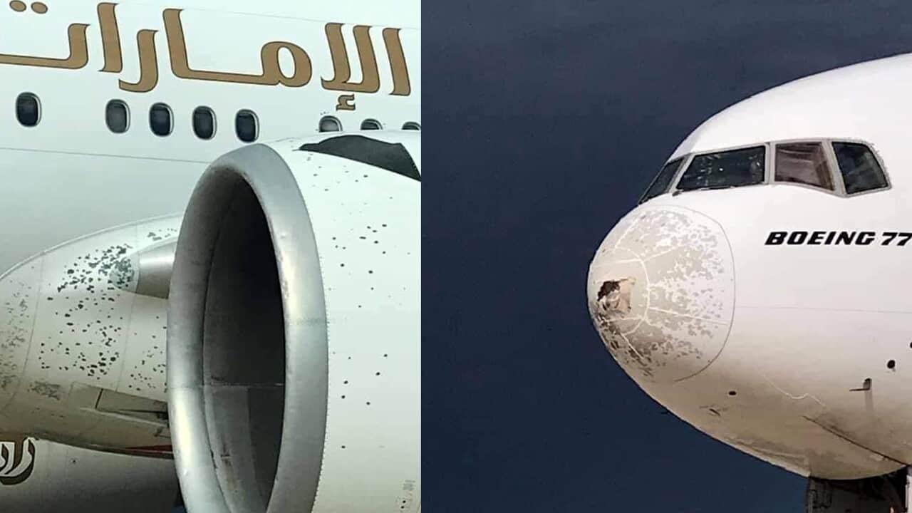 boeing grandine malpensa 1 - La grandine può abbattere un aereo?