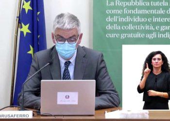 coronavirus brusaferro eta media 350x250 - Video. Preoccupa l'allerta meteo di nuovi forti temporali in Lombardia dopo l'alluvione lampo di Como