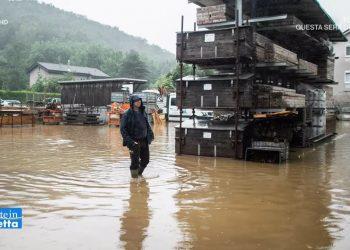 italia ed il rischio alluvione d 350x250 - Video. Preoccupa l'allerta meteo di nuovi forti temporali in Lombardia dopo l'alluvione lampo di Como