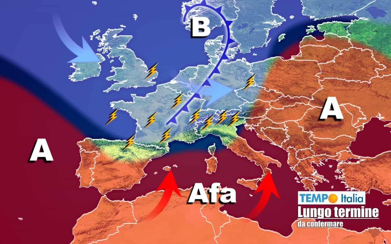 lungo termine ti 10 - Meteo Italia al 3 agosto: CALDO forte, ma con possibili sorprese