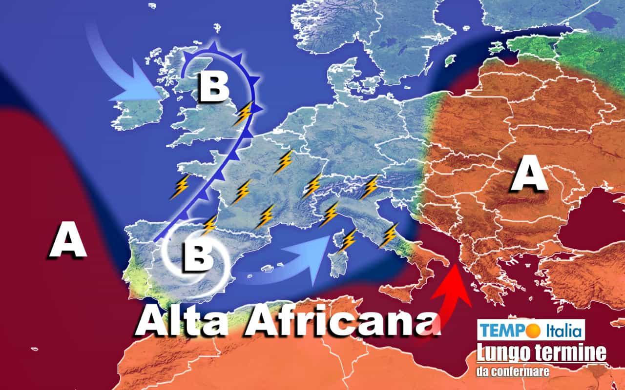 lungo termine ti 13 - Meteo Italia al 6 agosto: giù le temperature, RINFRESCA