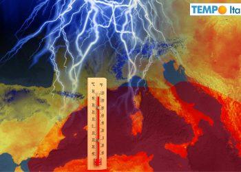 meteo con nuova ondata di caldo