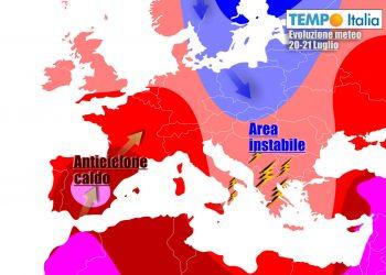Caldo sull'Italia tornerà nel corso della prossima settimana
