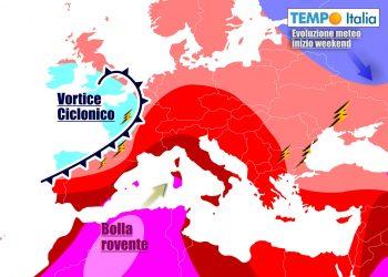 Weekend da canicola per molte regioni d'Italia