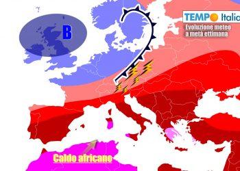 Caldo africano continuerà a tenere sotto scacco gran parte d'Italia