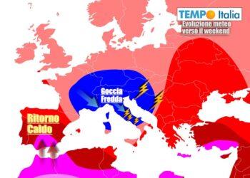 Meteo turbolento ancora a lungo sull'Italia