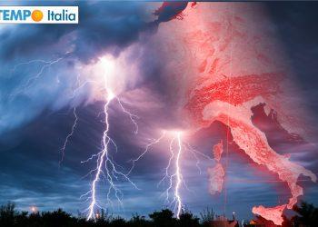 Nuova ondata di temporali in arrivo