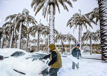 video meteo tempesta di neve in 350x250 - Timelapse Castelluccio di Norcia - MAGGIO 2021. Video